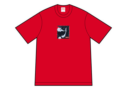 Supreme Shadow Tee Red (FW21)の写真
