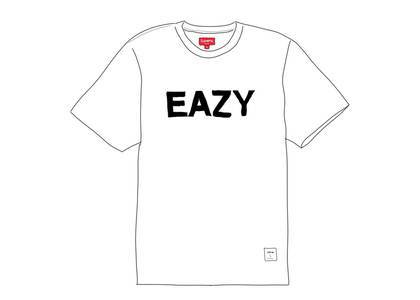 Supreme Eazy S-S Top Whiteの写真