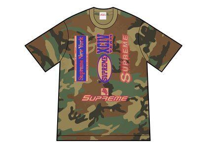 Supreme Multi Logos Tee Camo (FW21)の写真