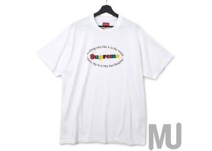 Supreme Nothing Else S-S Top Whiteの写真
