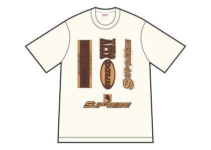 Supreme Multi Logos Tee Ivory (FW21)の写真