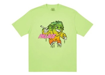 Palace Large Up T Shirt Lime (FW21)の写真