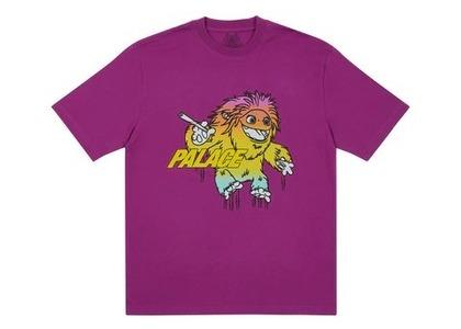 Palace Large Up T Shirt Plum (FW21)の写真