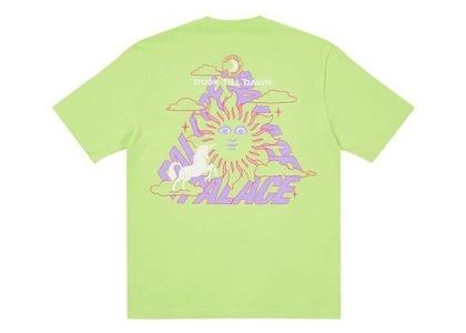 Palace Da One T Shirt Lime (FW21)の写真