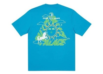 Palace Da One T Shirt Blue (FW21)の写真