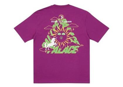 Palace Da One T Shirt Plum (FW21)の写真