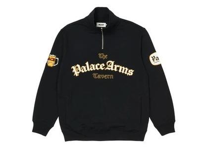 Palace Pub Grub Funnel Neck Black (FW21)の写真