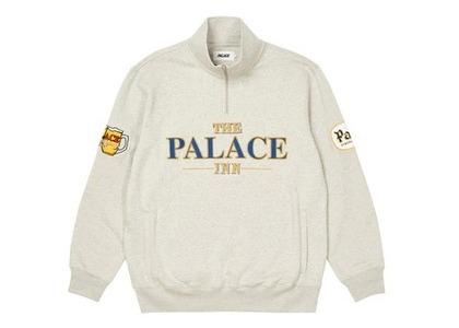 Palace Pub Grub Funnel Neck Grey (FW21)の写真