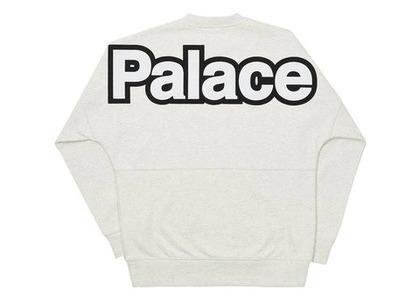 Palace Word Crew Grey (FW21)の写真