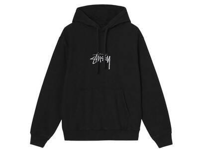 Stussy Stock Logo Embroidered Hood Black (FW21)の写真