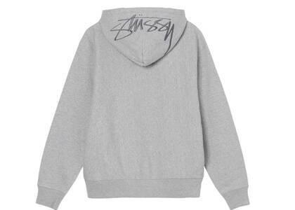 Stussy Back Hood Embroidered Hood Gray (FW21)の写真