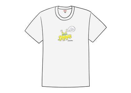 Supreme Daniel Johnston Frog Tee Whiteの写真