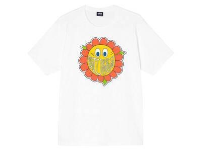 Stussy Happy Flower Tee White (FW21)の写真