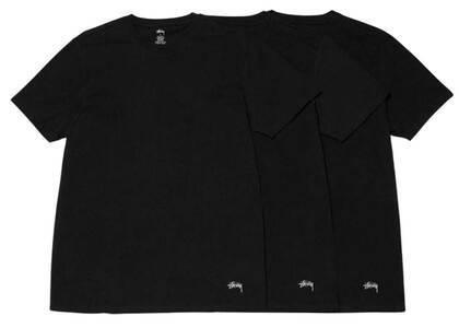 Stussy Undershirt (pack Of 3) Black (FW21)の写真