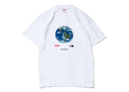 Supreme The North Face One World Tee Whiteの写真