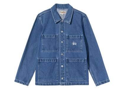 Stussy Denim Chore Jacket Blue (FW21)の写真