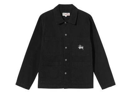 Stussy Canvas Chore Jacket Black (FW21)の写真