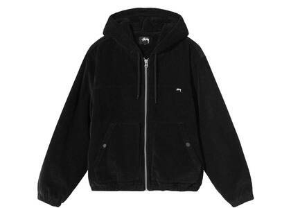 Stussy Cord Work Jacket Black (FW21)の写真