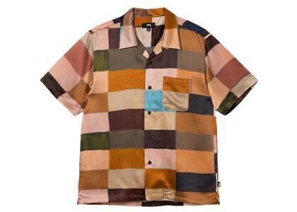 Stussy Painted Check Silk Shirt Multi (FW21)の写真