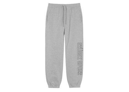 Stussy Sport Embroidered Pant Gray (FW21)の写真