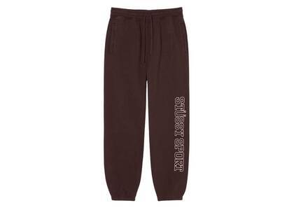 Stussy Sport Embroidered Pant Brown (FW21)の写真