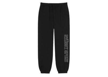 Stussy Sport Embroidered Pant Black (FW21)の写真
