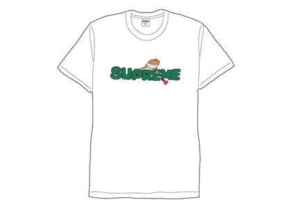 Supreme Lizard Tee Whiteの写真