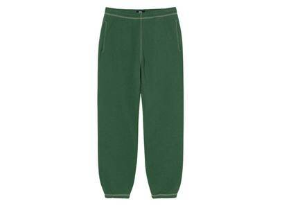 Stussy Contrast Stitch Label Pant Forest (FW21)の写真