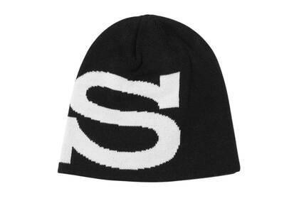 Stussy Big S Jacquard Skullcap Black (FW21)の写真