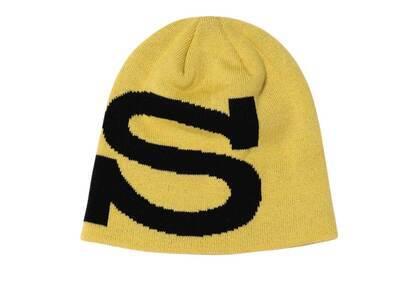 Stussy Big S Jacquard Skullcap Mustard (FW21)の写真