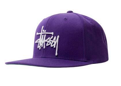 Stussy Basic Stock Cap Purple (FW21)の写真
