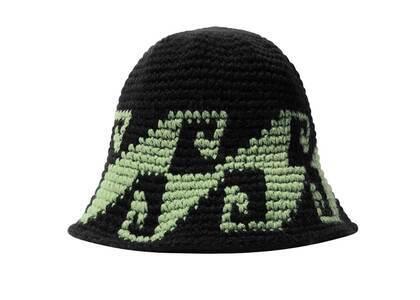 Stussy Waves Knit Bucket Hat Black (FW21)の写真