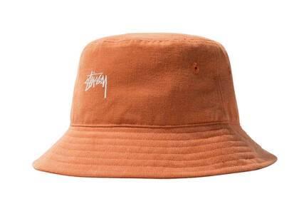 Stussy Stock Bucket Hat Tangerine (FW21)の写真