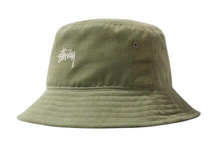 Stussy Stock Bucket Hat Olive (FW21)の写真
