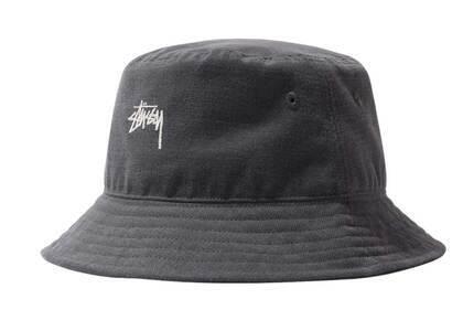 Stussy Stock Bucket Hat Charcoal (FW21)の写真