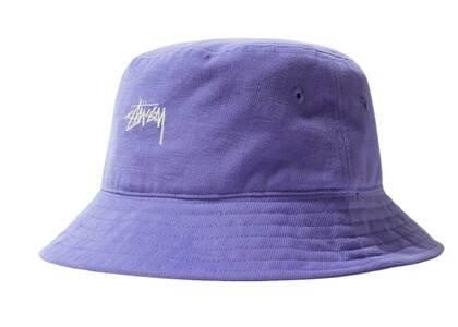 Stussy Stock Bucket Hat Ultra Violet (FW21)の写真