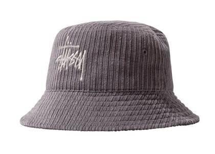 Stussy Corduroy Big Basic Bucket Hat Lavender (FW21)の写真