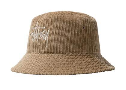 Stussy Corduroy Big Basic Bucket Hat Maple (FW21)の写真