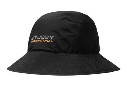 Stussy Gore-Tex Shell Hat Black (FW21)の写真