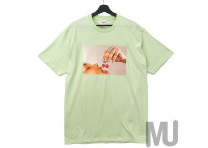 Supreme Cherries Tee Pale Mintの写真