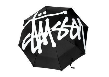 Stussy Big Logo Umbrella Black (FW21)の写真