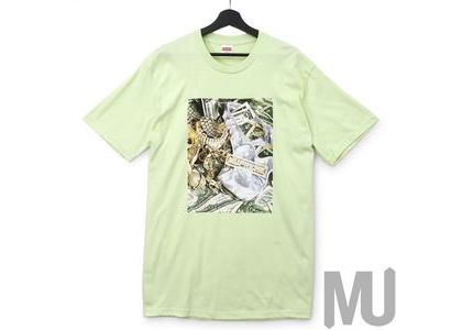 Supreme Bling Tee Pale Mintの写真