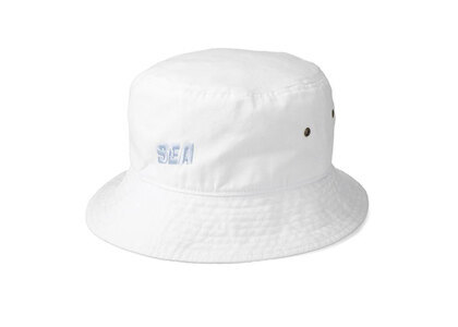 SNKR DUNK × WIND AND SEA Sea Bucket Hat Whiteの写真