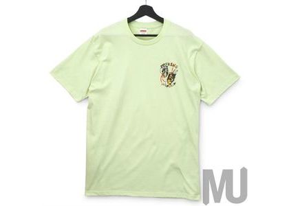 Supreme Laugh Now Tee Pale Mintの写真