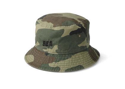 SNKR DUNK × WIND AND SEA Sea Bucket Hat Camoの写真