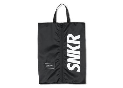 SNKR DUNK × WIND AND SEA Dunk Shoes Bag Blackの写真