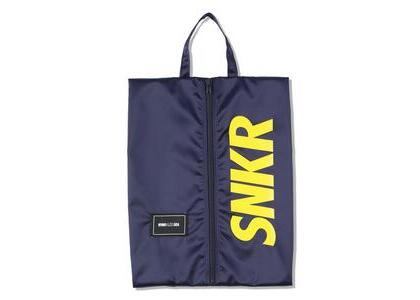SNKR DUNK × WIND AND SEA Dunk Shoes Bag Navyの写真
