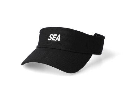 WIND AND SEA Sea Sun Visor Blackの写真