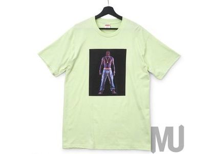 Supreme Tupac Hologram Tee Pale Mintの写真
