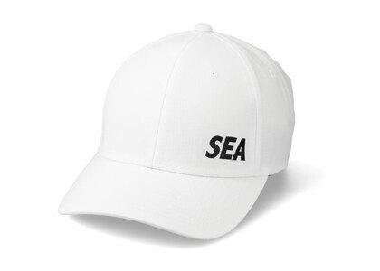 WIND AND SEA Sea Grid Cap Whiteの写真